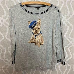 Do Cute Talbots Light sweater!